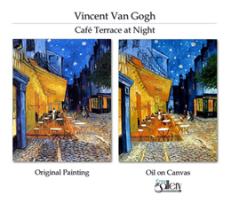 Custom made reproduction of Van Gogh.