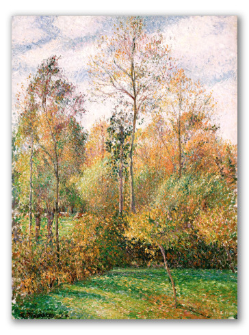Autumn, Poplars, Eragny