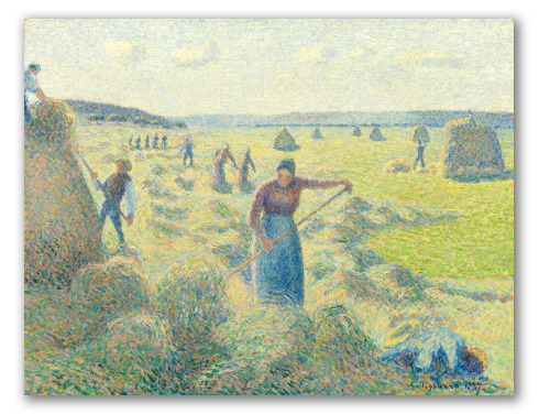 Hay Harvest at Eragny