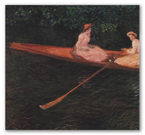 Boating on the Epte